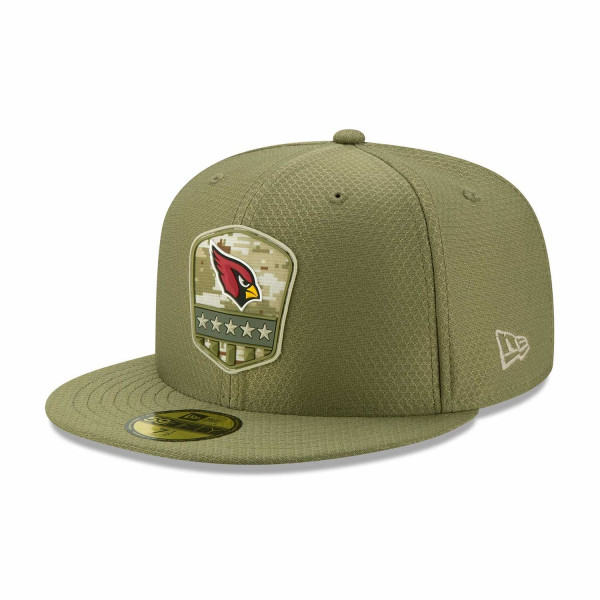 Arizona Cardinals 2019 On-Field Salute to Service 59FIFTY NFL Cap