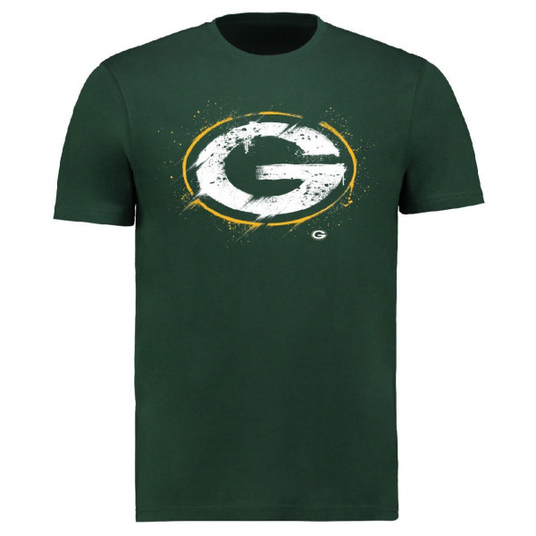 Green Bay Packers Splatter NFL T-Shirt