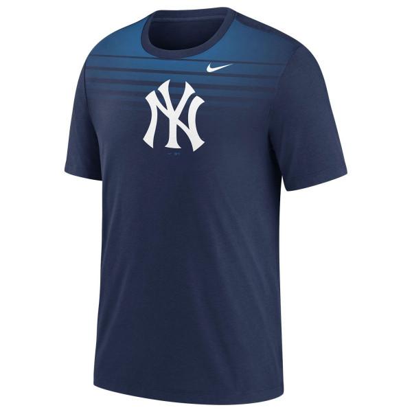 New York Yankees Stripe Fade Nike TriBlend MLB T-Shirt