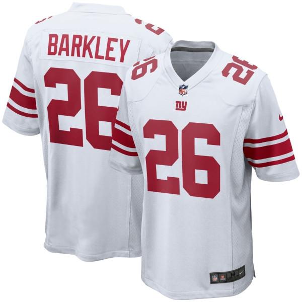 Saquon Barkley #26 New York Giants Nike Game Football NFL Trikot Weiß