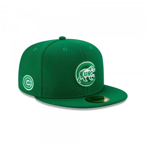 Chicago Cubs 2020 Authentic St. Patrick's Day 59FIFTY Fitted MLB Cap