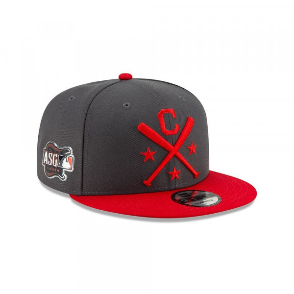 Cleveland Indians 2019 MLB All Star Workout 9FIFTY Snapback Cap