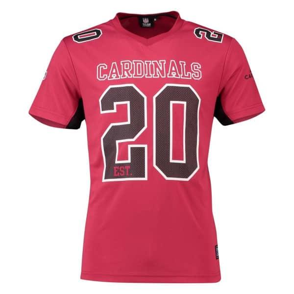 c61d42321349d Majestic Arizona Cardinals Moro Est. 20 Mesh Jersey NFL T-Shirt ...