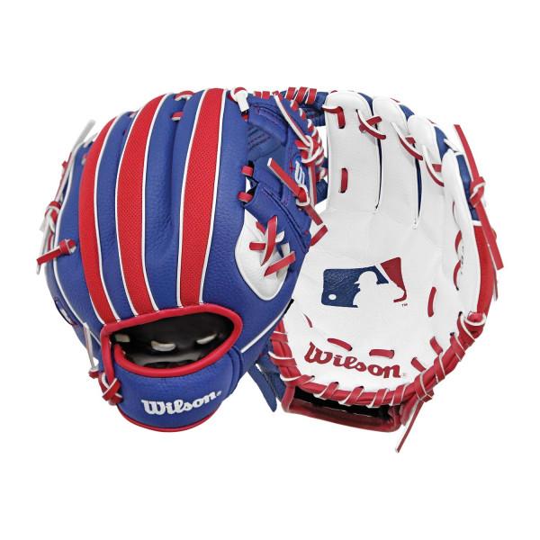 """MLB Logo 10"""" (25,40 cm) Tee-Ball-Handschuh A200 Rechtswerfer"""