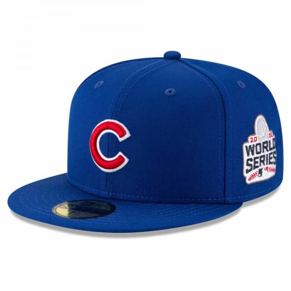 Chicago Cubs 2016 World Series Cooperstown 59FIFTY Fitted MLB Cap