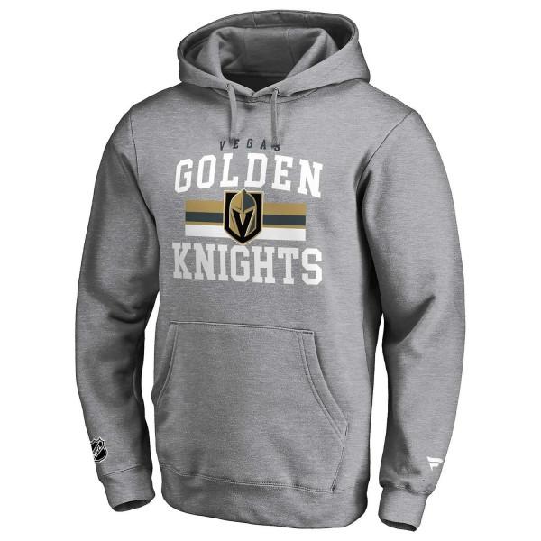 Vegas Golden Knights Dynasty Fanatics Iconic NHL Hoodie Grau