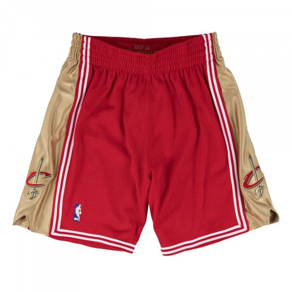 Cleveland Cavaliers 2003-2004 Authentic NBA Shorts ‫Rot
