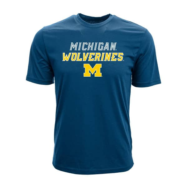Michigan Wolverines Slant Route NCAA T-Shirt