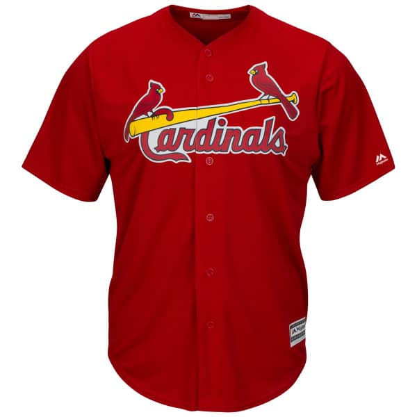 the latest e9865 49a79 St. Louis Cardinals Cool Base MLB Jersey Alternate Red