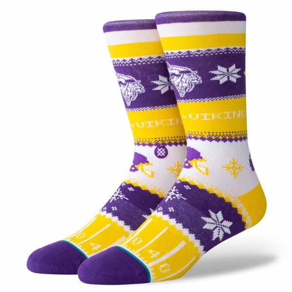 Minnesota Vikings Holiday Sweater NFL Socken