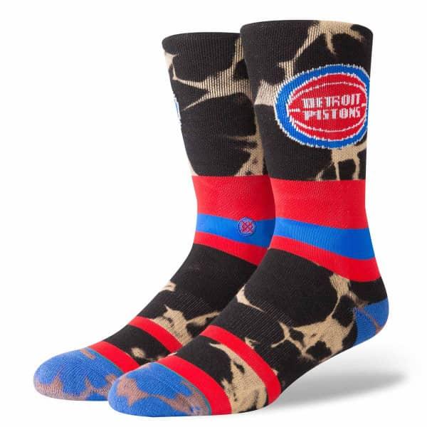 Detroit Pistons Acid Wash NBA Socken