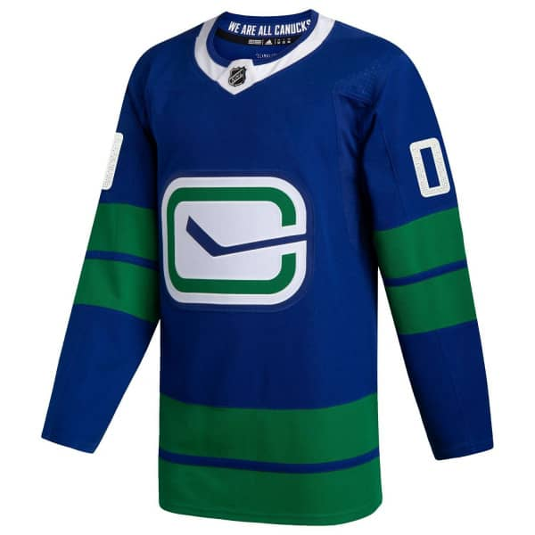 Vancouver Canucks adidas Authentic Pro NHL Trikot Alternate Blau