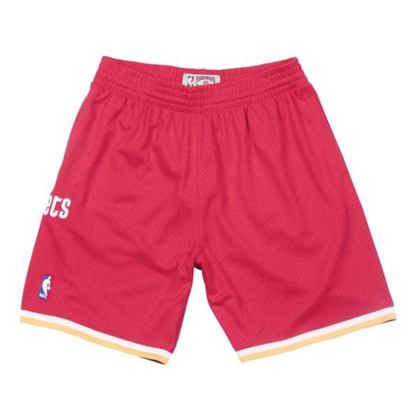 Houston Rockets 1993-94 Mitchell & Ness Swingman NBA Shorts Rot