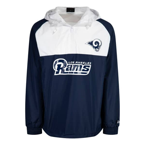 Los Angeles Rams 2019 Color Block NFL Windbreaker Jacke