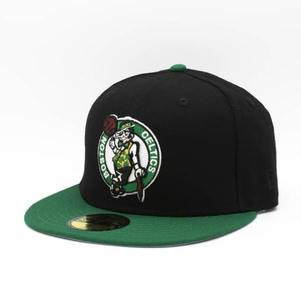 Boston Celtics Primary Logo 59FIFTY Fitted NBA Cap Schwarz/Grün