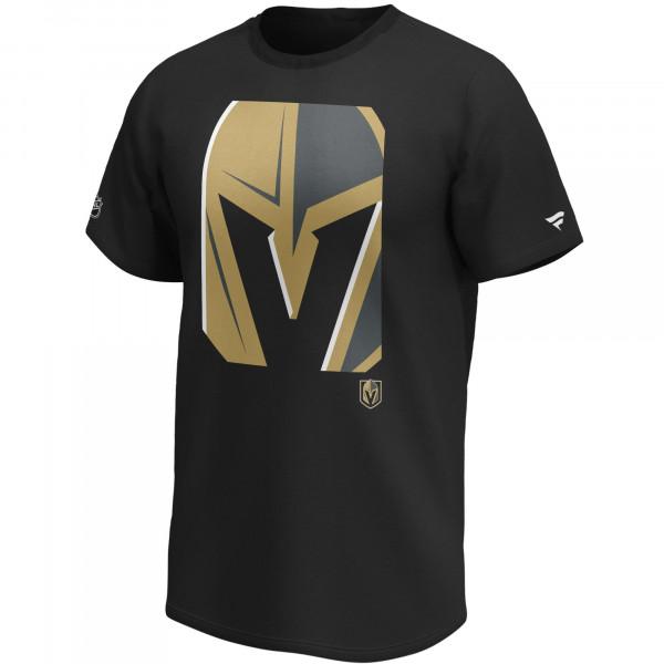 Vegas Golden Knights Reveal Fanatics NHL T-Shirt Schwarz