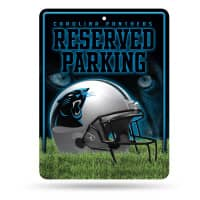 Carolina Panthers Reserved Parking NFL Metallschild