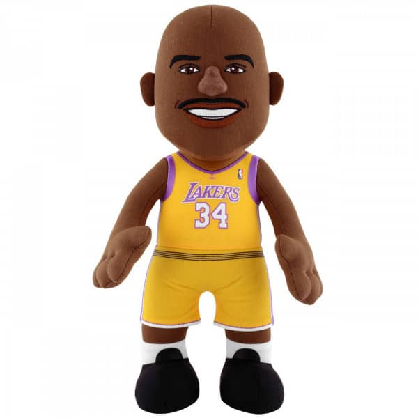 Shaq O'Neal #34 Los Angeles Lakers NBA Plüsch Figur