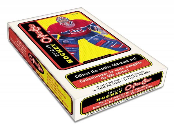 2018/19 Upper Deck O-Pee-Chee Hockey Hobby Box NHL