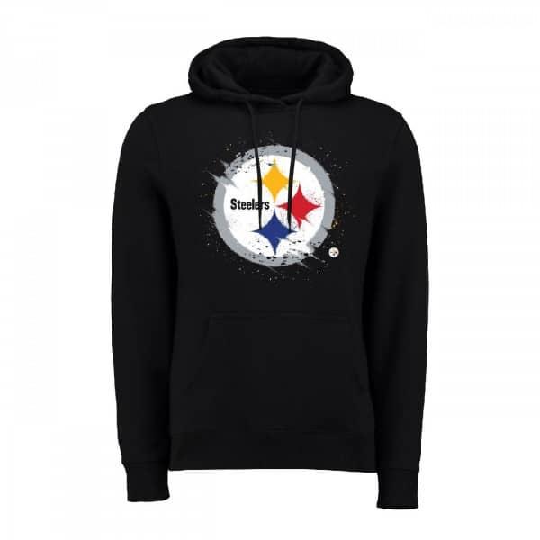 Pittsburgh Steelers Splatter NFL Hoodie
