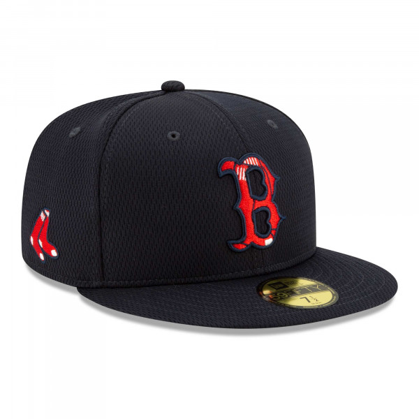 Boston Red Sox 2021 MLB Authentic Batting Practice New Era 59FIFTY Fitted Cap