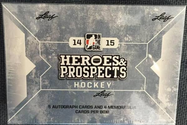 2014/15 In The Game Heroes & Prospects Hockey Hobby Box