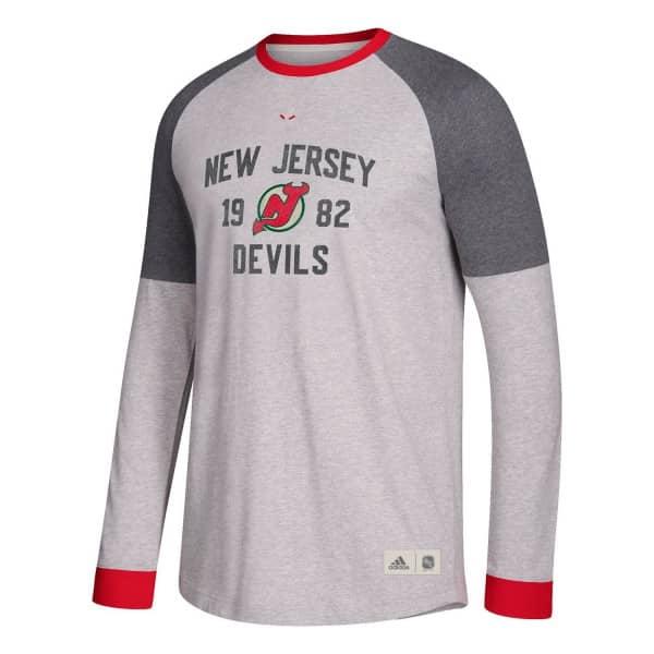 New Jersey Devils Vintage NHL Long Sleeve Shirt