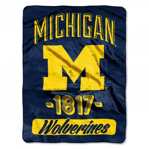Michigan Wolverines Super Plush NCAA Decke