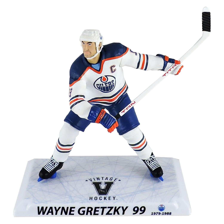 Imports Dragon Wayne Gretzky Edmonton Oilers Vintage Hockey NHL Figure  WHITE (16 cm)  d4eef1ef8