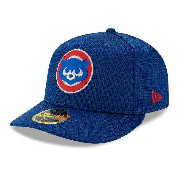 Chicago Cubs 2021 MLB Authentic Clubhouse New Era Low Profile 59FIFTY Cap