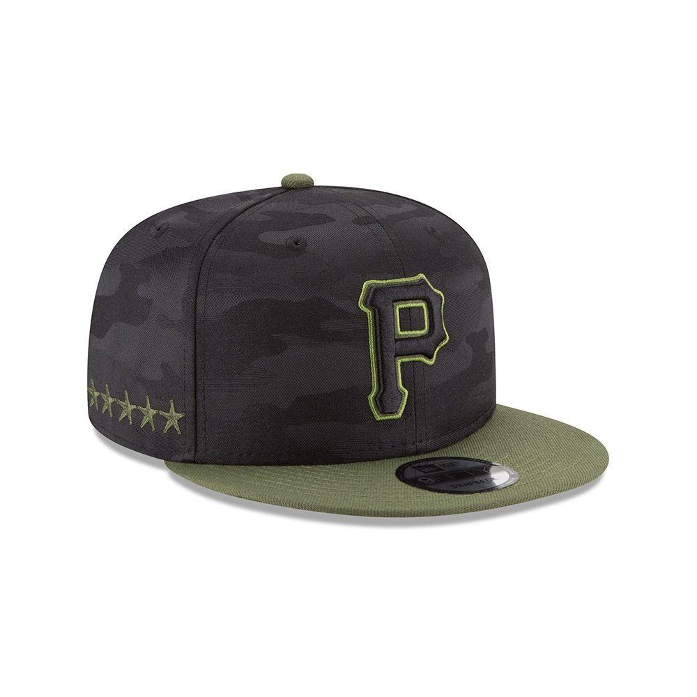 innovative design 8c3b6 300b6 New Era Pittsburgh Pirates 2018 Memorial Day 9FIFTY Snapback MLB Cap    TAASS.com Fan Shop