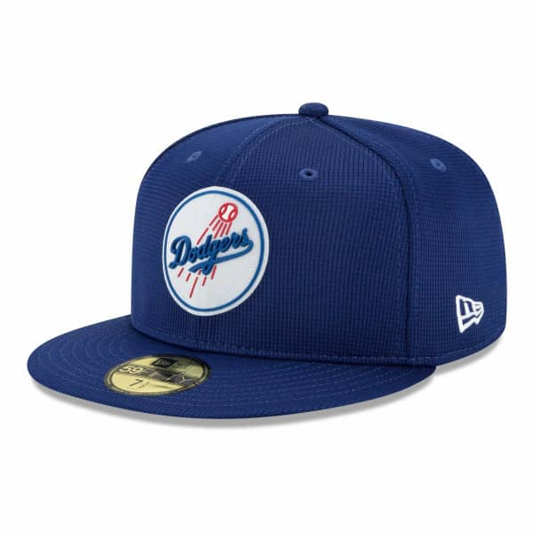 Los Angeles Dodgers 2021 MLB Authentic Clubhouse New Era 59FIFTY Fitted Cap