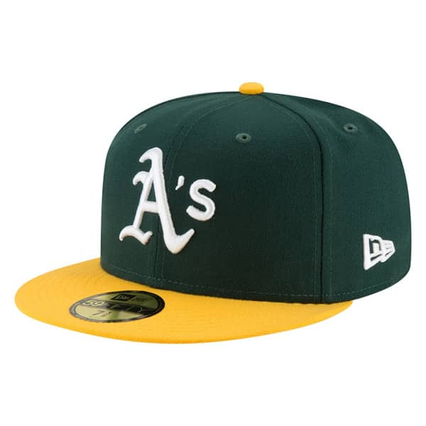 Oakland Athletics Authentic 59FIFTY Fitted MLB Cap Home