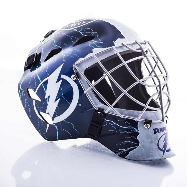 Franklin Tampa Bay Lightning Nhl Mini Goalie Mask Taass Com Fan Shop