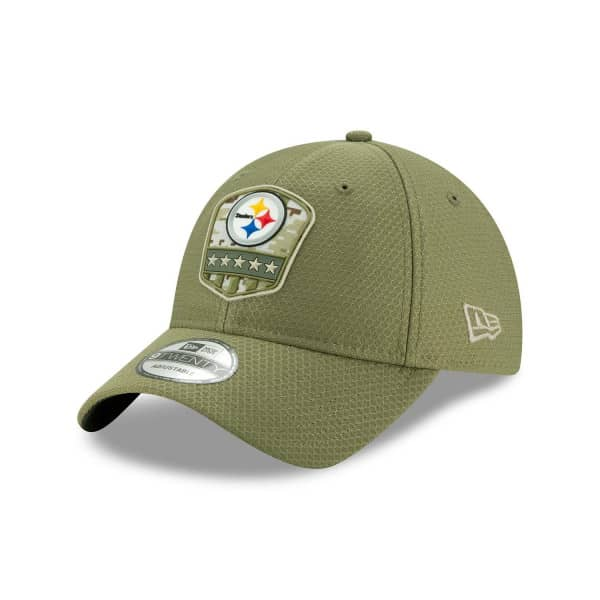 Pittsburgh Steelers 2019 On-Field Salute to Service 9TWENTY NFL Cap