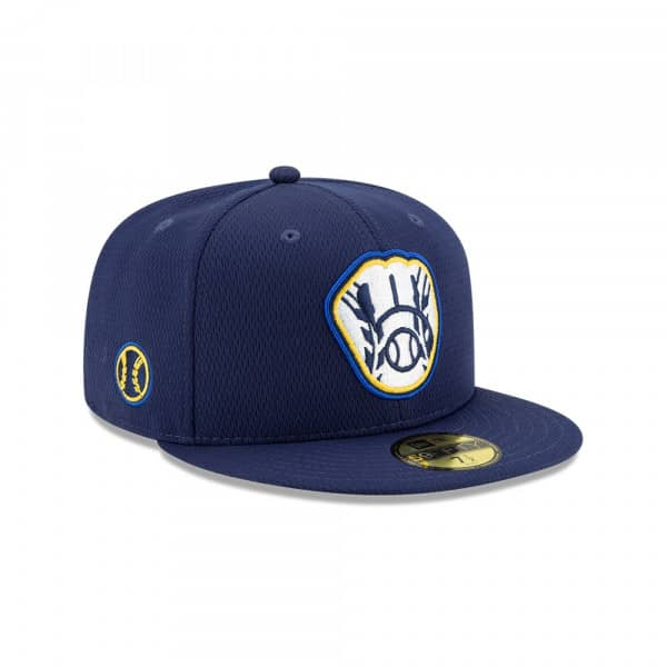 Milwaukee Brewers 2020 Authentic Spring Training 59FIFTY Fitted MLB Cap