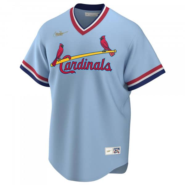 St. Louis Cardinals Cooperstown Collection Nike Replica MLB Trikot Blau