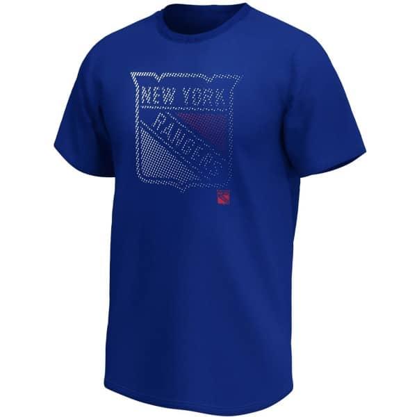 New York Rangers 2020 Doorbusters Fade Fanatics Core NHL T-Shirt