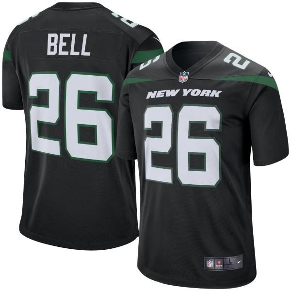 Le'Veon Bell #26 New York Jets Nike Game NFL Trikot Alternate Schwarz
