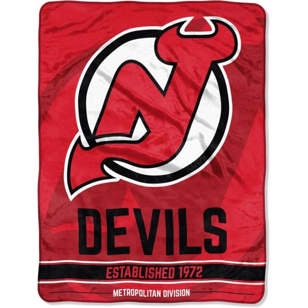 New Jersey Devils Super Plush NHL Decke