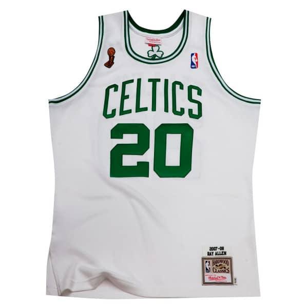 Ray Allen #20 Boston Celtics 2007-08 Authentic NBA Trikot