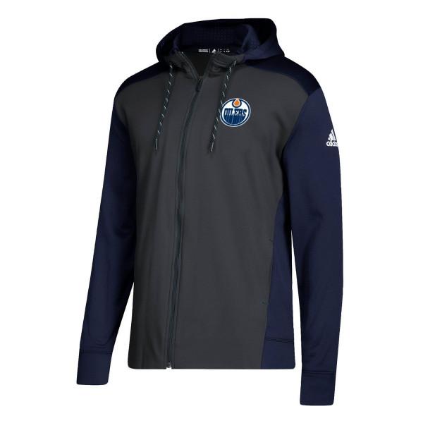 Edmonton Oilers NHL Full-Zip Hoodie