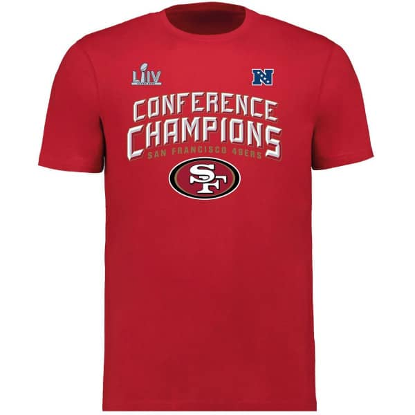 San Francisco 49ers 2019-20 NFC Conference Champions NFL T-Shirt