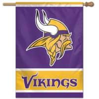 Minnesota Vikings Vertical NFL Fahne