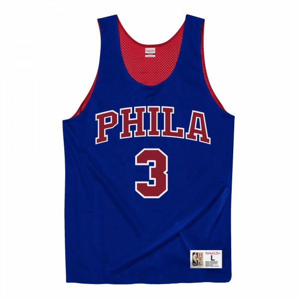 Allen Iverson #3 Philadelphia 76ers Mitchell & Ness NBA Reversible Mesh Jersey