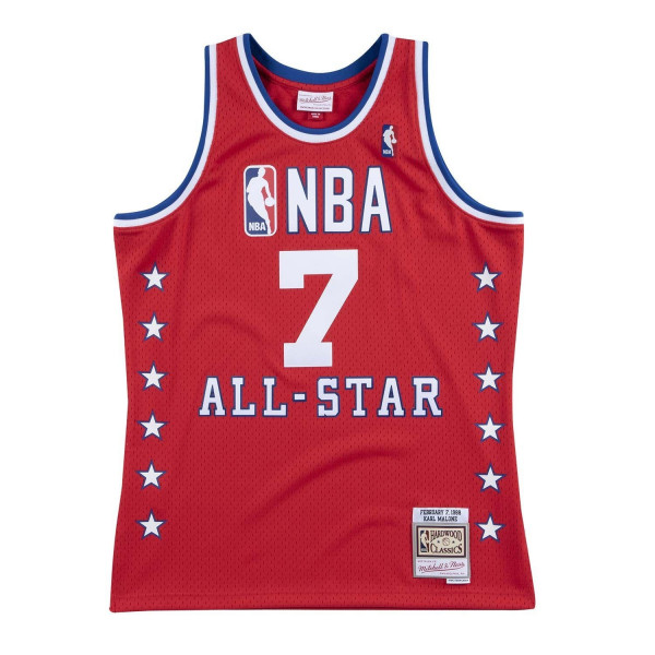 Karl Malone #7 1988 NBA All-Star Game West Swingman Trikot