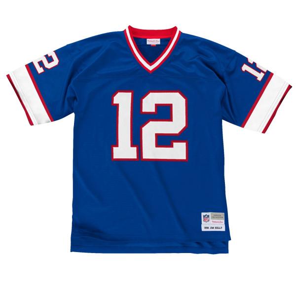 0d3f3991 Mitchell & Ness Jim Kelly Buffalo Bills Replica Throwback NFL Jersey Blue |  TAASS.com Fan Shop