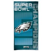 Philadelphia Eagles Super Bowl LII Champions NFL Strandtuch