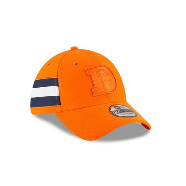 Denver Broncos 2018 Color Rush 39THIRTY NFL Flex Cap