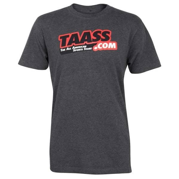 TAASS.com Logo T-Shirt Dunkelgrau
